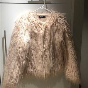 Light Pink Fur Jacket